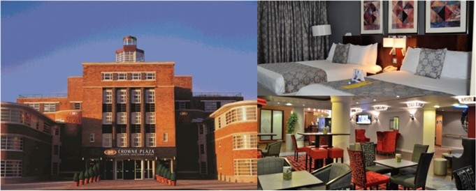 The Crowne Plaza Liverpool John Lennon Aiport Hotel in Speke
