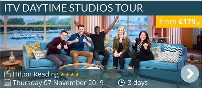 ITV Daytime Studios London Tour