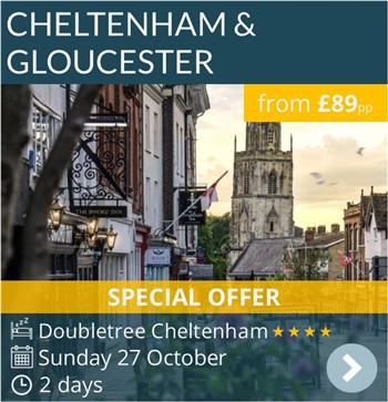 Arvonia Cheltenham & Gloucester Short Break