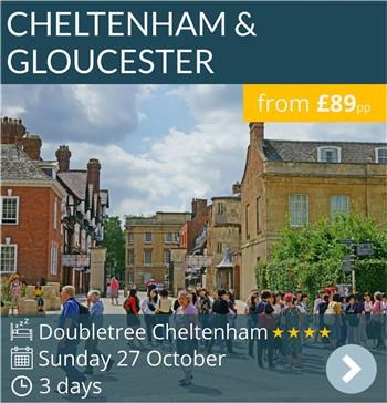 Arvonia Cheltenham & Gloucester Short Break