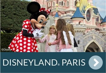 Disneyland Paris escorted coach holiday via Eurotunnel