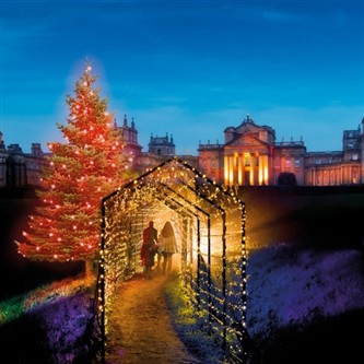 Blenheim Palace Christmas Lights Trail