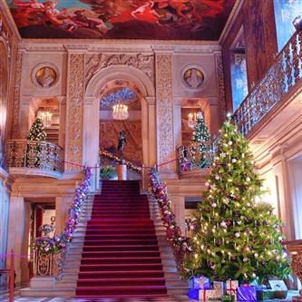 Chatsworth at Christmas time
