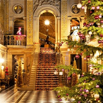 Chatsworth at Christmas time