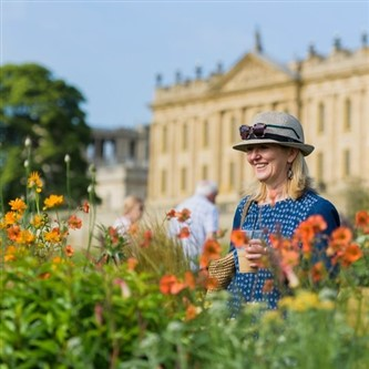 The RHS Chatsworth Flower Show in Derbyshire
