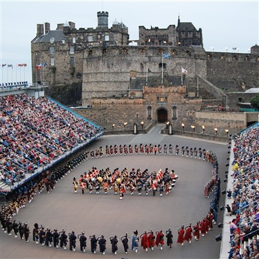 Edinburgh Tattoo, Falkirk Wheel & Stirling