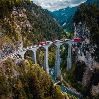 Spectacular Glacier & Bernina Express