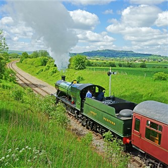 The Gloucestershire Warwickshire Steam Railway