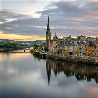 Scenic Perthshire & Highland Castles