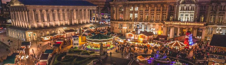 Birmingham Christmas Market & Ironbridge