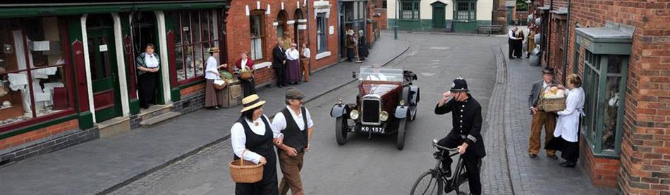 The Black Country Living Museum whcih is used as filiming loication for Peaky Blinders