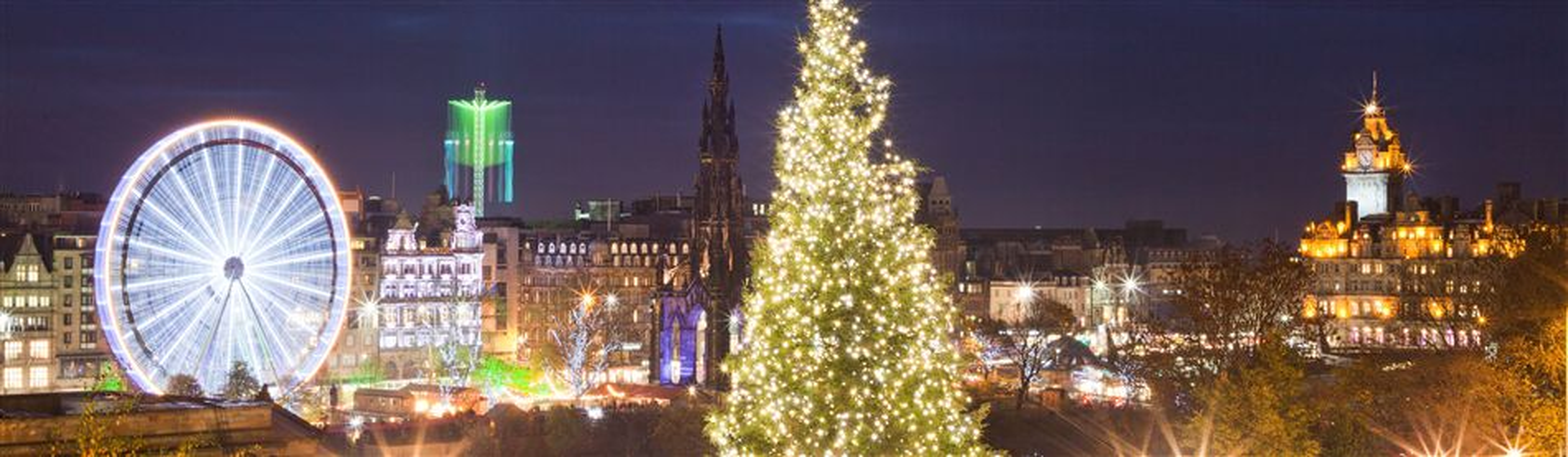 Loch Lomond & Edinburgh Christmas Market