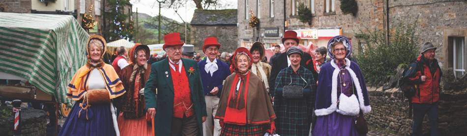Grassington Dickensian Festival & Skipton