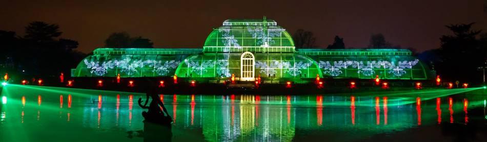 Kew Christmas Lights & London