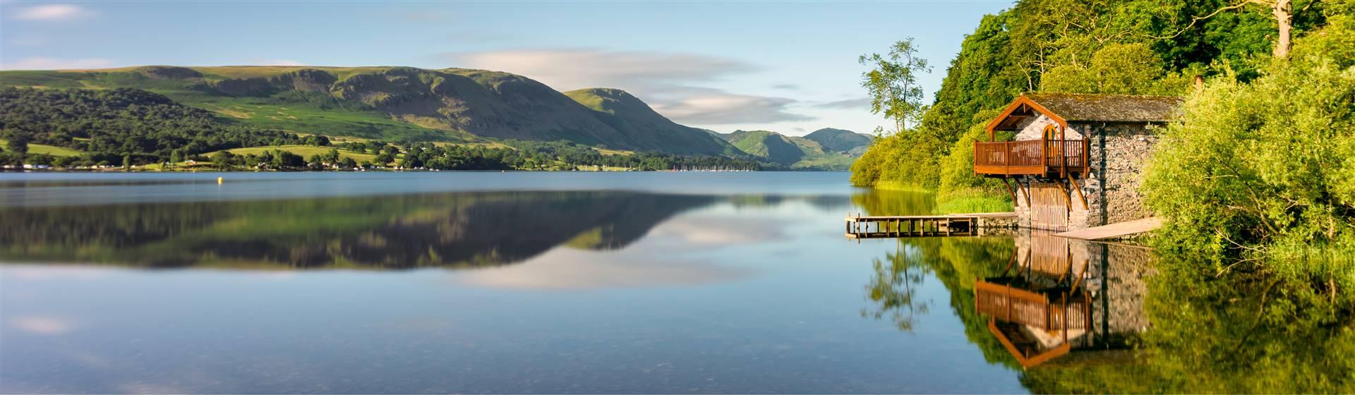 Ullswater in Cumbria's Lake District