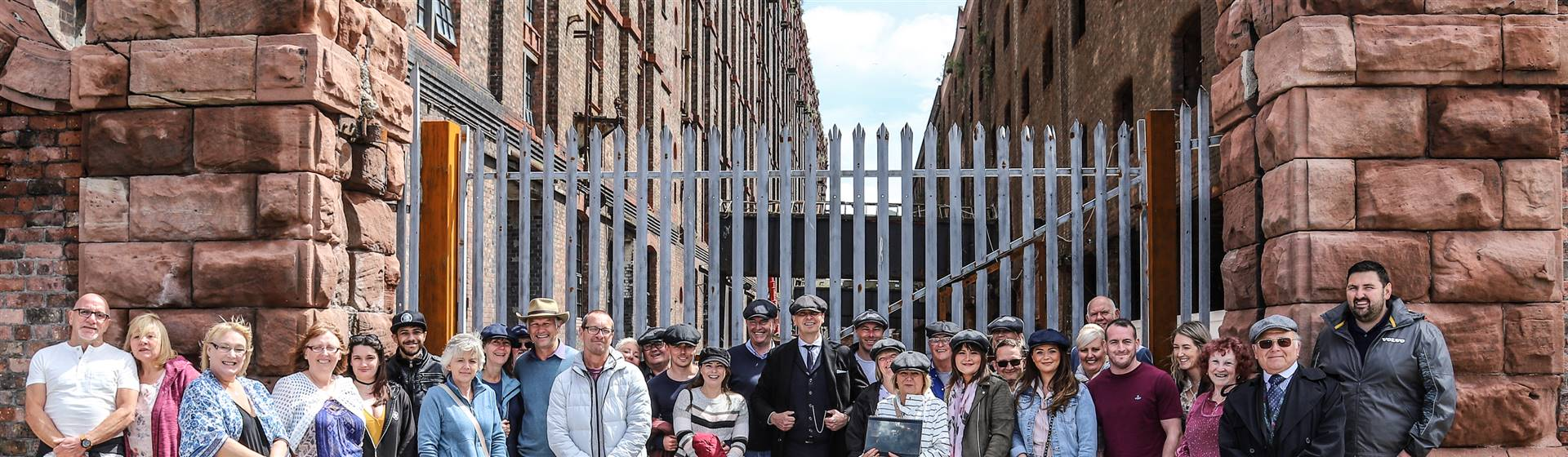 Official Peaky Blinders Tour of Liverpool