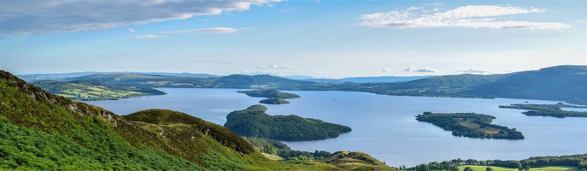 Loch Lomond, Trossachs & Edinburgh