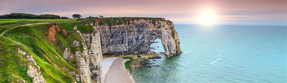 The Stunning Normandy Coast in northern France